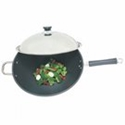 """Picture of Fire Magic 3572 15"""" Wok with Stainless Steel Cover"""