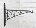 """Picture of 30"""" Wrought Iron Fireplace Crane"""