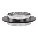 "Picture of 6"" Dura-Vent 8678 - DVL/DuraBlack Chimney Adapter"